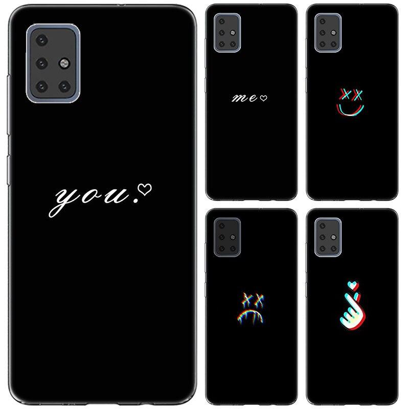 Abstract Line Face art dark Case For Samsung Galaxy S11E S11 Plus A10S A20S A30S A50S A70S A51 A71 M30S M40S Note 10 Lite A90 5G