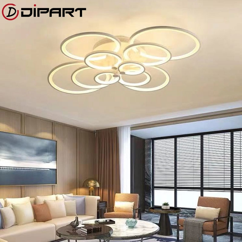 Modern Led Ceiling Light Dimming Led Ceiling Lamp Fixtures LED Ceiling Lights Remote Control Living Room Bedroom botimi modern led ceiling lights wooden square ceiling lamp with dimming remote for living room dining light wood bedroom lamps
