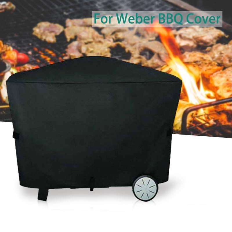 Чехол для гриля Weber Q2000 Q3000, покрытие для барбекю, аксессуары для уличного барбекю, пыленепроницаемые и водонепроницаемые защитные чехлы
