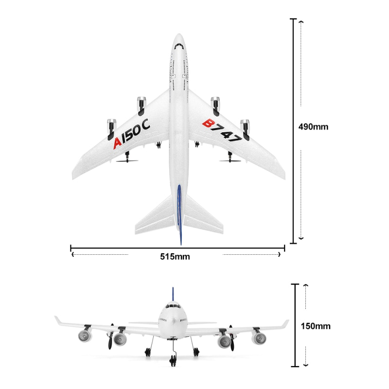 2.4G Remote Control RC Airplane Plane RC Aircraft 2CH EPP Airplane Miniature Model Plane 100M RC Distance Airplane Fixed Wing to enlarge