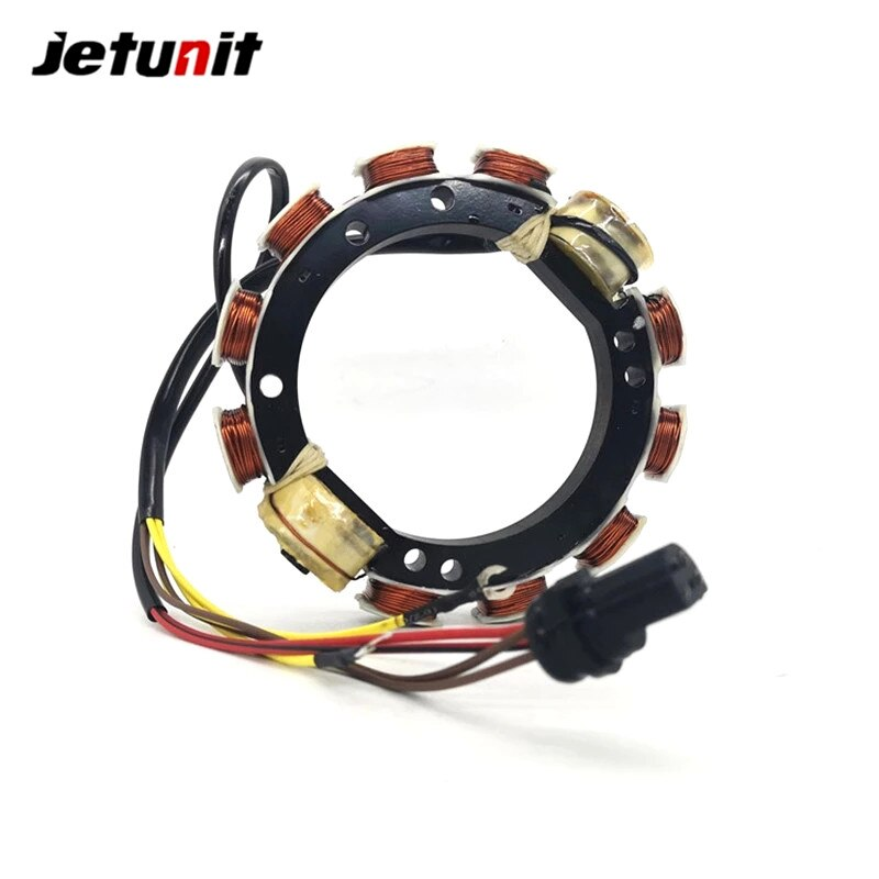 Outboard Stator For Johnson Evinrude 1989-1998(60,65,70HP-3Cyl)(9Amp) 584766,584236,583779,763762 173-4766 enlarge