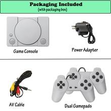 AV الناتج الرجعية الكلاسيكية يده لعبة لاعب التلفزيون لعبة فيديو وحدة الطفولة المدمج في 620 ألعاب وحدة تحكم صغيرة 8Bit هدية عيد ميلاد