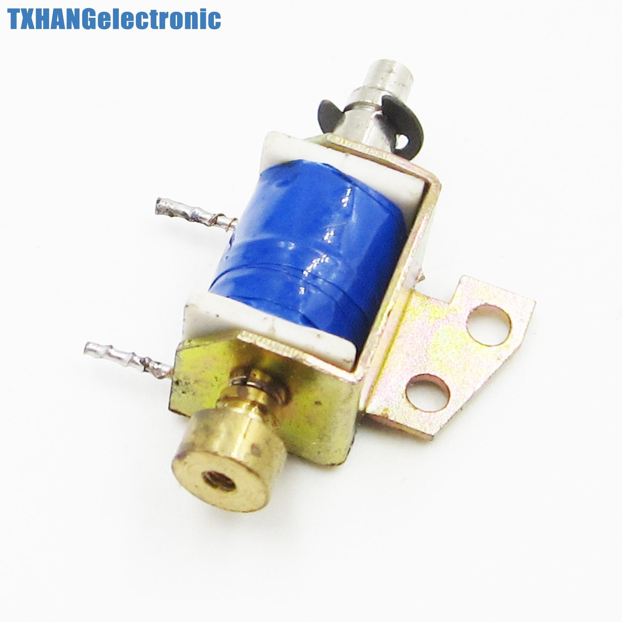 HCNE1-0416 DC12V electroimán solenoide tipo push pull marco abierto 10mm 2N reinicio