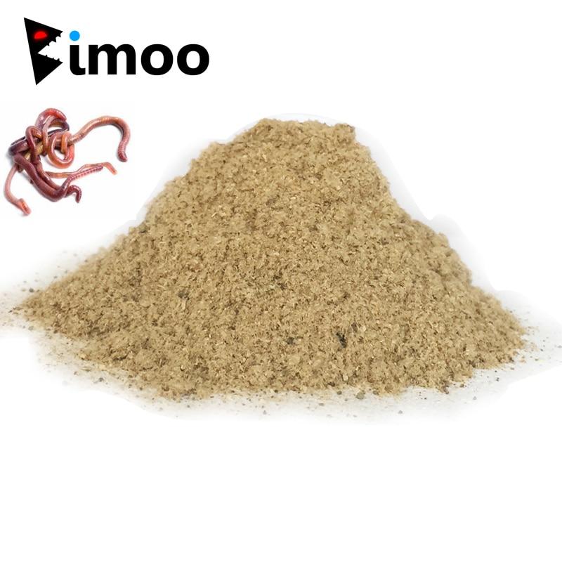 Bimoo1 мешок 30 г земляной червь вкус добавка Карп Рыболовная Приманка-Фидер Boillie делая материал земной червь