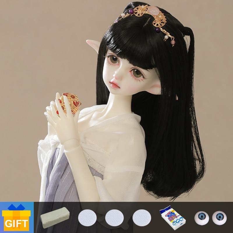 Shuga Fairy 1/4 DIM Flowne muñecas BJD, conjunto completo de articulaciones movibles, maquillaje profesional, Envío Gratis, artículos de muñeca para regalo
