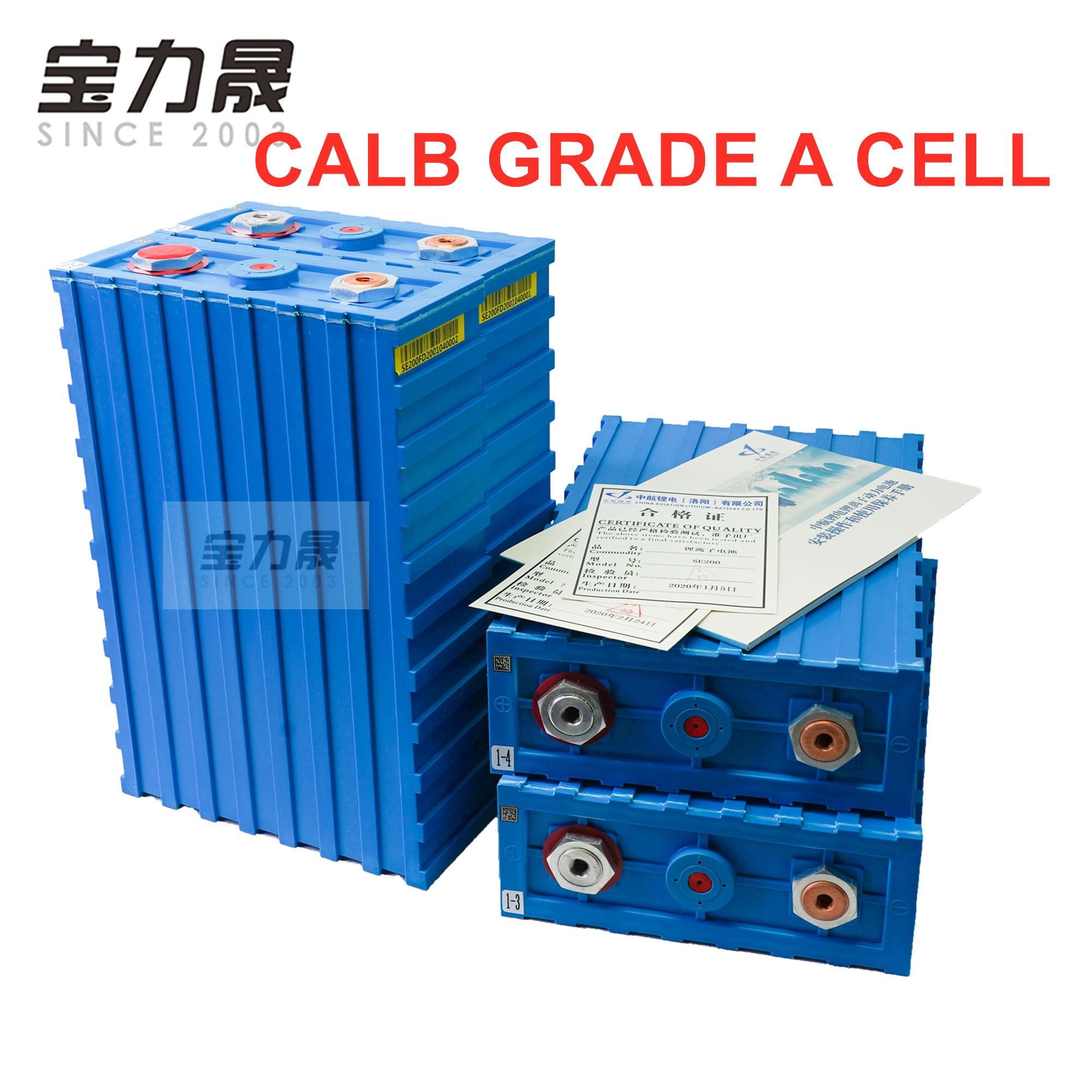 2020 nuevo 3.2V200ah grado A LiFePO4 Célula de baterías recargables CALB SE200FI plástico 12v24V para paquete EV solar US EU AU libre de impuestos