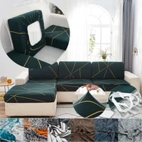 stripe sofa seat cushion cover elastic sectional sofa cover corner sofa slipcovers couch covers pets kids furniture protector