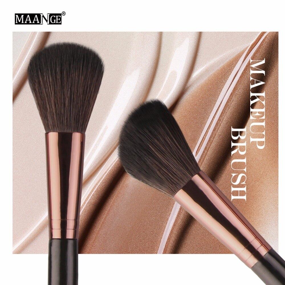 MAANGE-Juego de brochas de maquillaje, Kit de herramientas de cosmética para ojos, sombra de ojos en polvo, mezcla de bases, colorete, delineador de ojos, belleza de labios, 6/15/18 Uds.