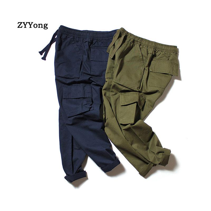 Новинка, мужские брюки-карго с несколькими карманами, для активного отдыха, комбинезоны в стиле милитари, зеленые брюки-карго