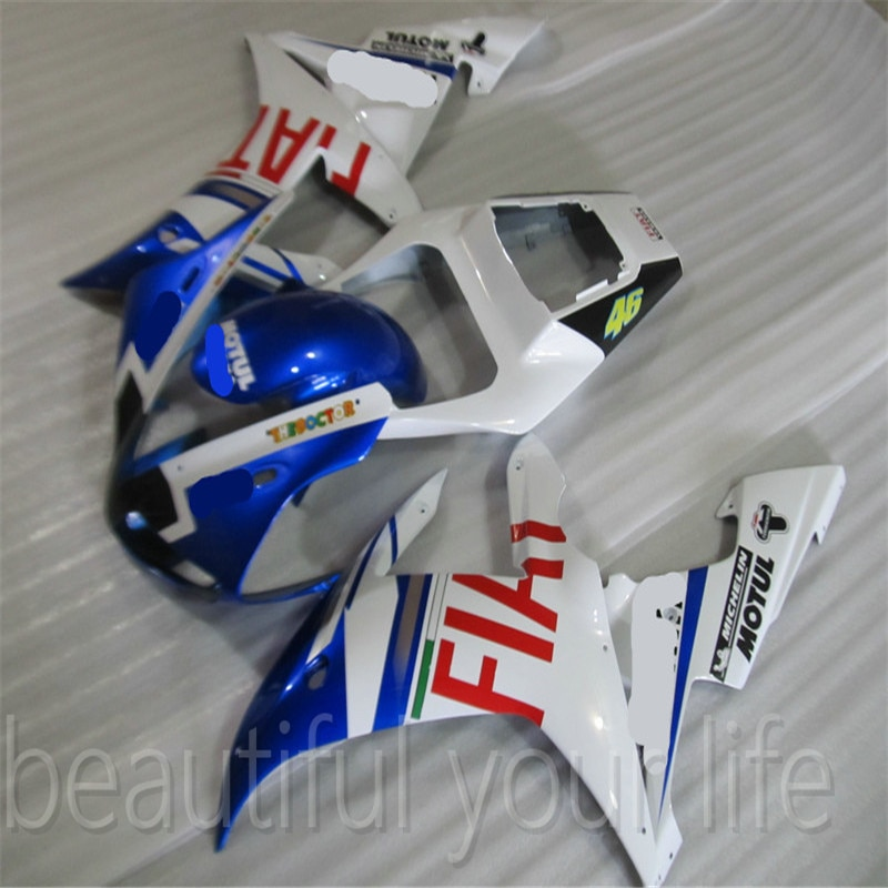 حار صالح لياماها Fairings YZF 1000 YZFR1 02 03 YZF1000 YZF R1 2002 2003 YZF-R1 03 02 الأزرق Fairings