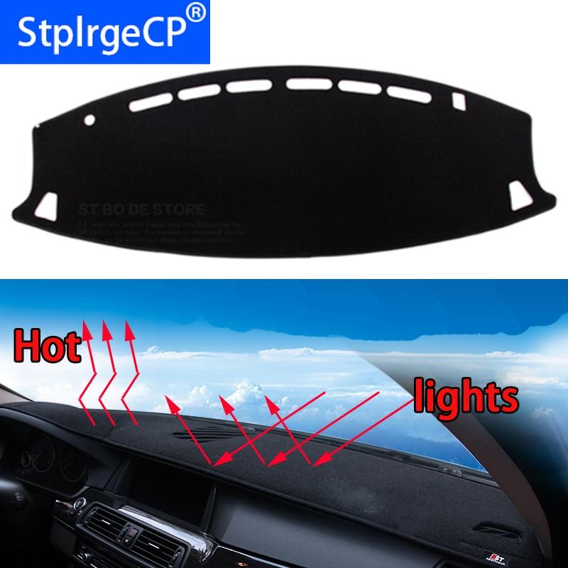Tablero de coche evitar almohadilla de luz instrumento plataforma cubierta de escritorio alfombras accesorios de automóvil diseño de coche para nissan teana 2004- 16