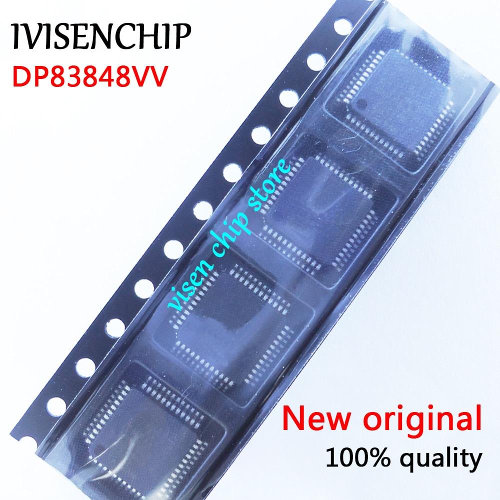 10pcs DP83848 DP83848CVVX DP83848CVV DP83848VV QFP-48