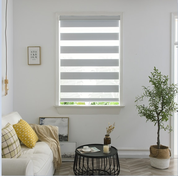 New style cheap and high quality plain color Zebra blinds for home decoration