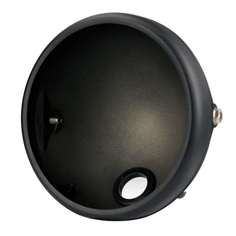 Motorcycle Headlight Base 7-Inch Retro Prince Modified LED Shell