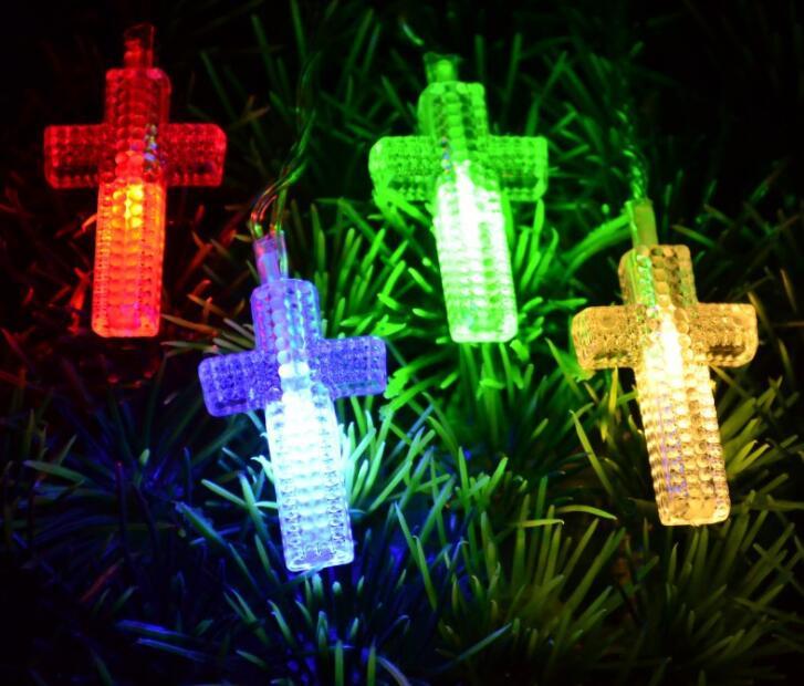 cordao de lampadas led em cruz com brilho de casamento natal decoracao de quarto