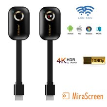 4K TV Stick G9 Plus 2.4G/5G Miracast Wireless DLNA AirPlay Mirascreen Display Mirror Receiver TV Don