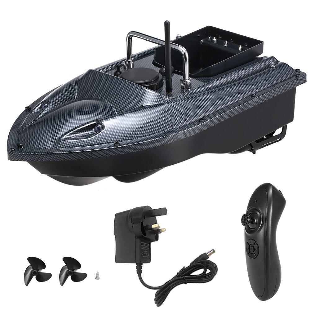 C118 controle remoto sem fio alimentador de pesca inteligente isca de pesca barco brinquedo rc barco de pesca 540 metros alcance remoto reino unido/ue/eua plug