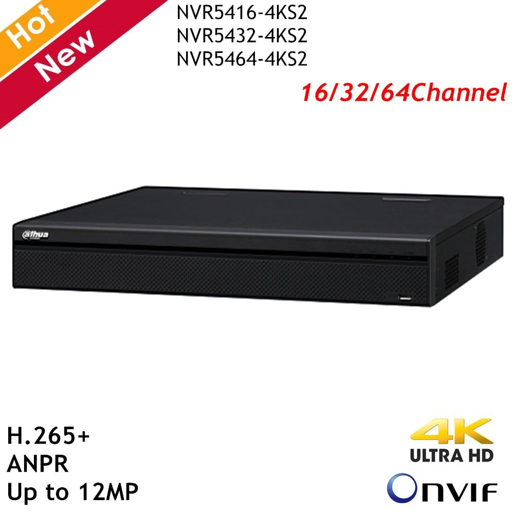 Dahua Onvif NVR 4K H.265 + Max 12MP 16CH 32CH 64CH NVR 4 HDD Überwachung Sicherheit Video Recorder Für IP Kamera Systeme