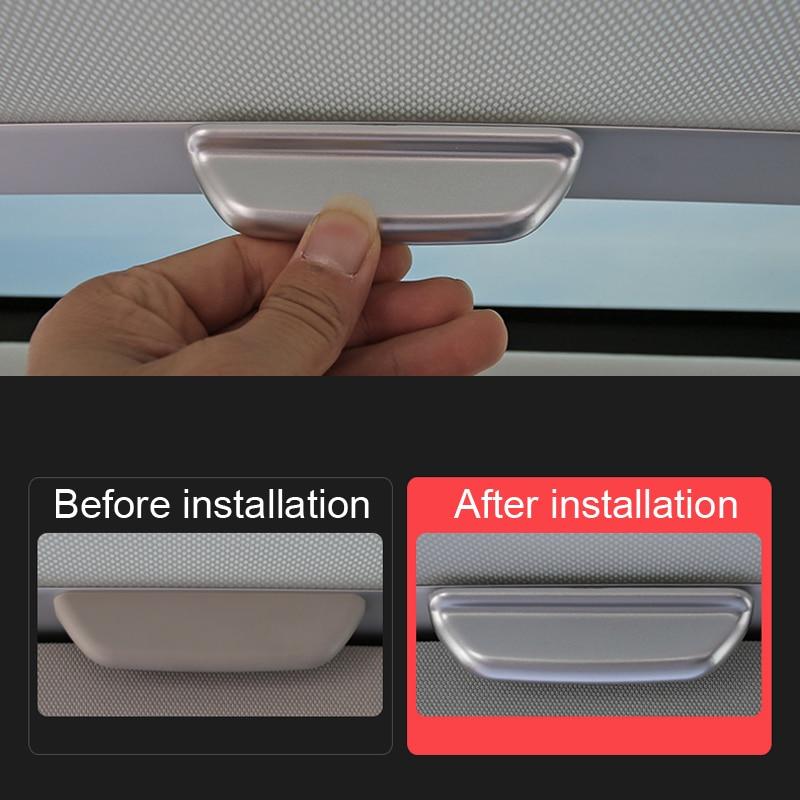 Ajuste para VW Volkswagen Golf 7 Mk7 2013-2019 Accesorios mate ABS Interior...