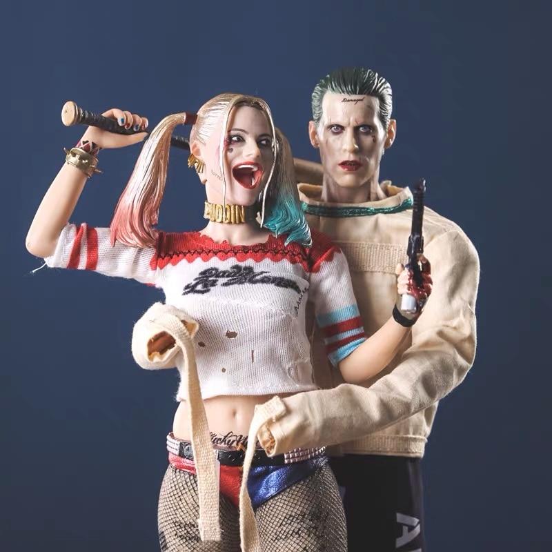 Suicide Squad Harley Quinn Joker action figure 28cm 11 inch