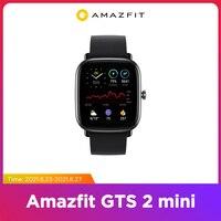 [ дисконт GTS 2 mini ₽6730 ] [ промок од UHWOW650 ] Глобальная версия Amazfit GTS 2 мини GPS Smartwatch активно-матричные осид, Дисплей 70 спортивных режимов монитор н...