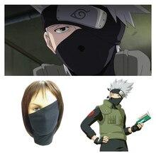 Anime Naruto Konoha Kakashi Cosplay Masks Headgear Hide Half Face Lycra Mask Headband Party Halloween Props Boy Man Toy