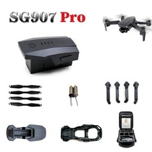 SG-907 Pro SG907pro Battery RC drone spare parts blade remote control charging line  arm motor  shel