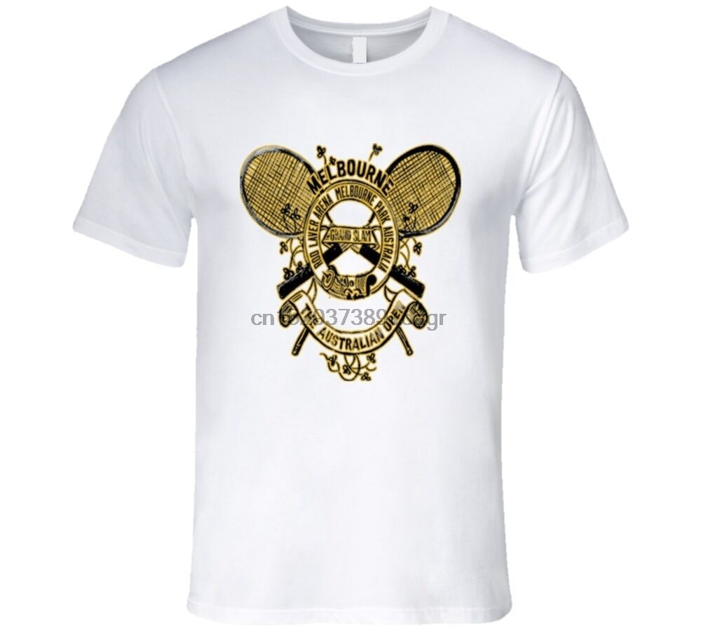 Camiseta de torneo de tenis clásico Abierto Australiano de MELBOURNE