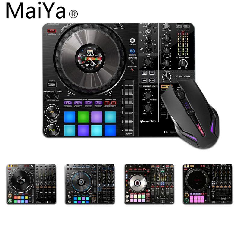 Высококачественный винтажный крутой игровой коврик Maiya для мыши с музыкой DJ, игровые коврики, гладкий коврик для письма, настольные компьют...