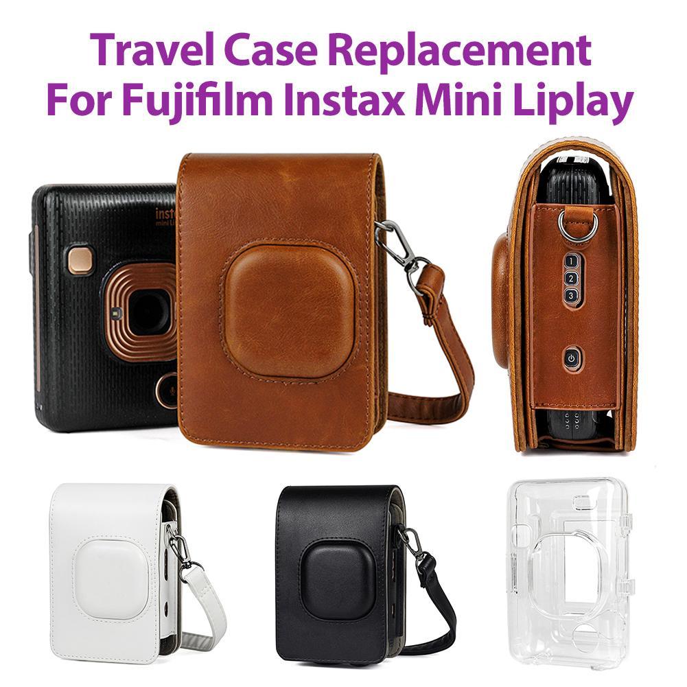 Funda protectora de viaje para Fujifilm Instax Mini Liplay, bolso híbrido de...