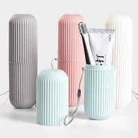Brosse a dents Portable de voyage  organisateur de rangement domestique  tasse a dents  accessoire de salle de bain
