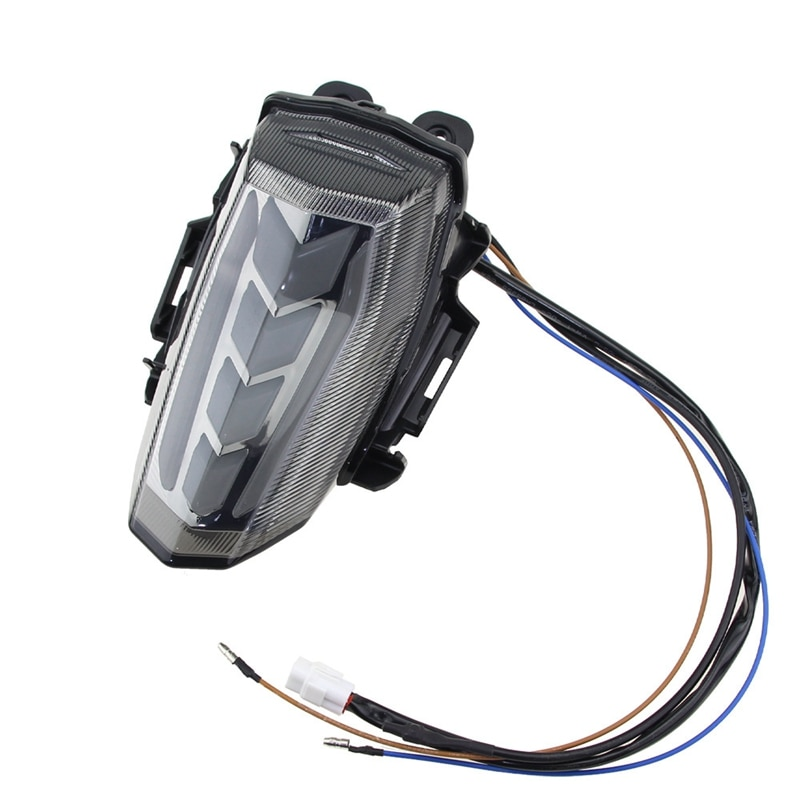 دراجة نارية متكاملة LED الذيل ضوء الفرامل وقف الضوء بدوره إشارات لياماها YZF-R15 YZF R15 YZFR15 V3 2017 -2019
