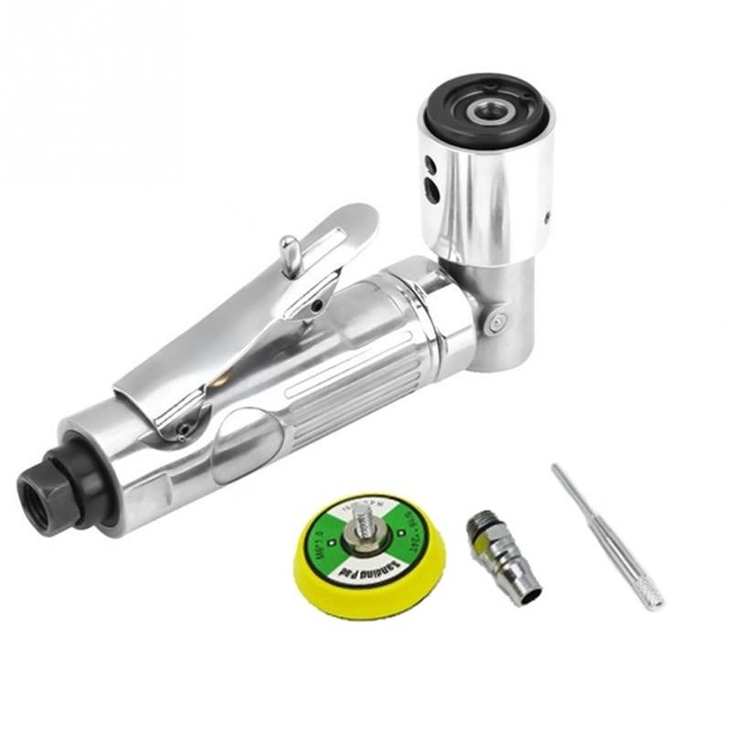 90 Degree Mini Air Polisher Pneumatic Grinding Machine Polisher 15000 Rpm Polishing Tool for Auto Body Work Pneumatic Tools enlarge