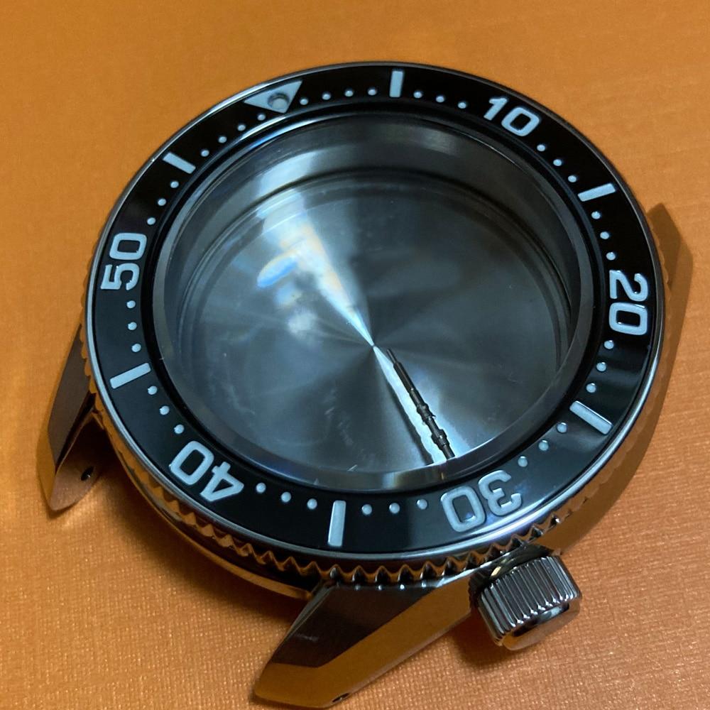 new-mod-case spb185j1 sbdx019 Tuna Mechanical watch watch accessories NH35 Skx007 / 009 Turtle Abalone