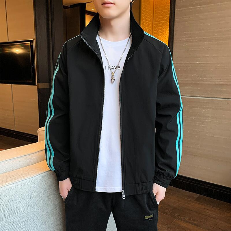 Spring and Autumn Casual Fashion Sports and Leisure Slim High-quality Jacket Men's Coat New Products Baseball Men's Jacket Tops