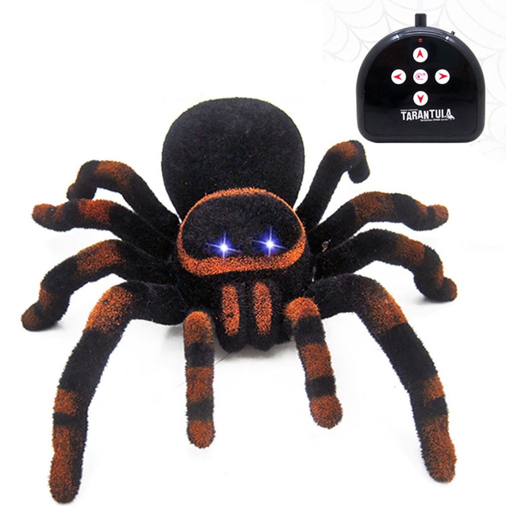 Wall Climbing Spider Remote Control Toys Infrared RC Tarantula Kid Gift Toy Simulation Furry Electronic Spider Toy For Kids Boys enlarge