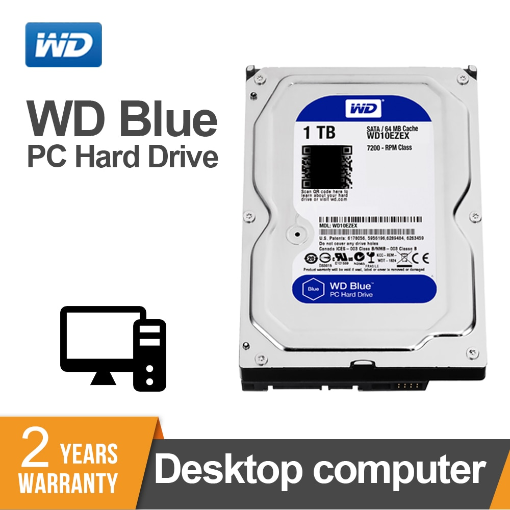 WD الأزرق 1 تيرا بايت 3.5