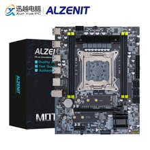 Carte mère ALZENIT X99M-CE5 Intel C612 X99 LGA 2011-3 Xeon E5 ECC REG DDR4 64GB M.2 NVME NGFF USB3.0 M-ATX carte mère serveur