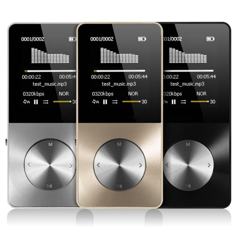 2021 Aluminum Alloy 8GB 16GB 32GB MP3 Player with Built-in Speaker FM BOOK HIFI player Walkman video Lossless music mp 3 player enlarge