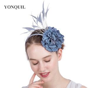 Nice Flower For Traval Head Flower Women Elegant Fashion Headwear With Fancy Feathers Hair Accessorirs Fascinators Headband