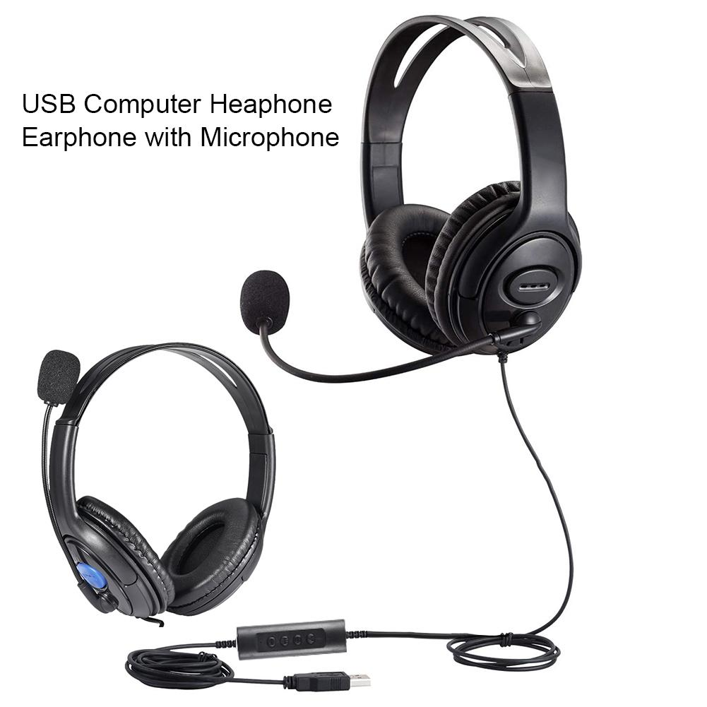 High Quality On Ear Headset Gamer Stereo Deep Bass Gaming Headphones Earphone With Microphone For Computer