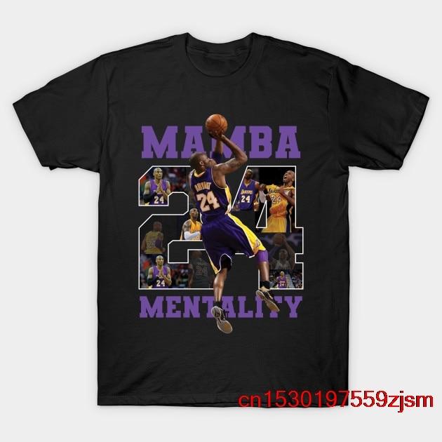 Camiseta Kobe Bryant Mamba Mentality 24 para hombre y mujer