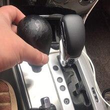 Boîte de vitesses automatique de voiture gère la tête de levier de levier de levier de levier de vitesse pour Mazda 3 5 6 8 pour MX-5 pour CX-5 CX-7 CX-9 en cuir véritable