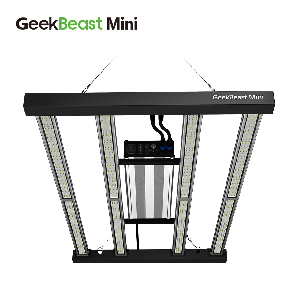 GeekBeast-مصباح نمو Led صغير ، 480 واط ، 3000 كيلو ، 3500 كيلو ، lm301h ، lm301b ، للنباتات الداخلية
