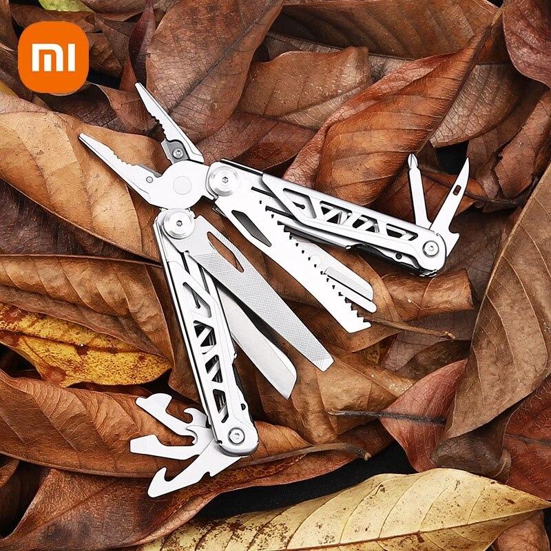 شاومي EDC التخييم صلابة متعددة الوظائف ذو طيات كابل سلك القاطع متعددة الوظائف أدوات متعددة في الهواء الطلق للطي سكين كماشة Kithchen