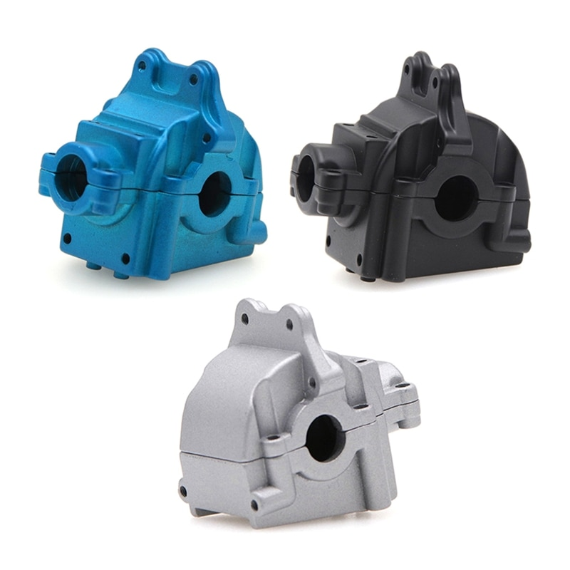 Alloy Gearbox Cover Gear Box Housing Shell for Wltoys 144001 1/14 RC Model Car