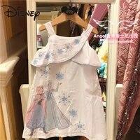 disney frozen queen elsa child girl cute dress sling princess skirt woman skirts long skirts for women cartoon knee length