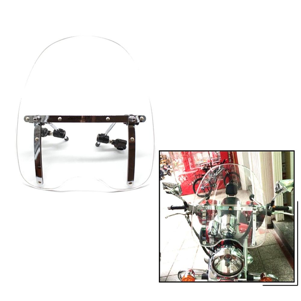 الزجاج الأمامي للدراجات النارية ، الزجاج الأمامي للدراجات النارية ، لـ Harley Street 500 750 ، XG500 ، XG750 ، 15 ، 16 ، 17