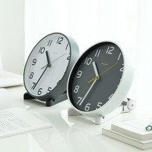ساعة الطاولة سطح المكتب ساعة خمر ساعة مكتب مكتب المنزل اكسسوارات الديكور ديكور بسيط ساعة معلقة صامتة
