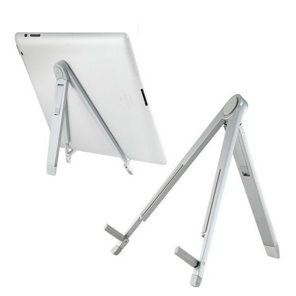 Besegad универсальный портативный складной регулируемый штатив из алюминиевого сплава подставка Подставка держатель для iPad Tablet PC